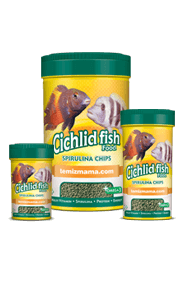 Cichlid Fish Food-Spirulina Chips